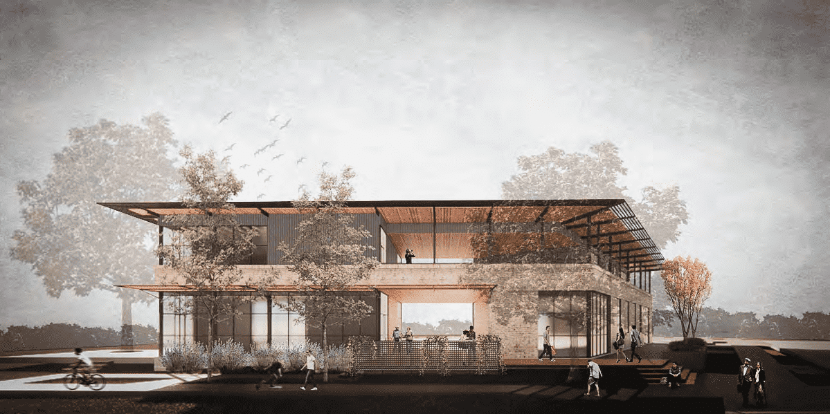 Mixed Use Development in New Braunfels   |   Rendering courtesy of TADA